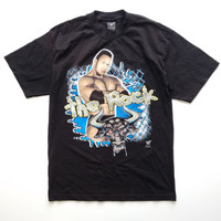 Vintage Deadstock The Rock Dwayne Johnson WWE WWF wrestling vintage T-Shirt