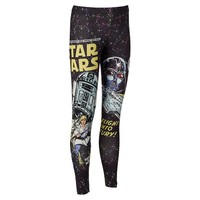 Mighty Fine Star Wars Comic Juniors' Leggings, Size: