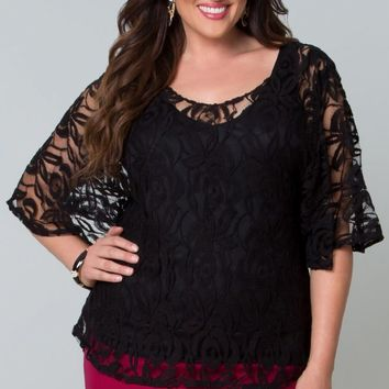 Ethereal Lace Blouse-Sale