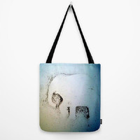 Elephant Dust, whimsical, elephant decor - Tote Bag - 3 Sizes Available - Grocery, Beach, Busy Mom, Coworker, Teacher - Made To Order-ED#78