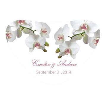 Classic Orchid Heart Container Sticker Plum (Pack of 1)