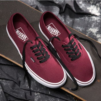 """VANSVIM"" Classic Unisex Casual Low Help Shoes Canvas Shoes Couple Shoes Skateboard Shoes"