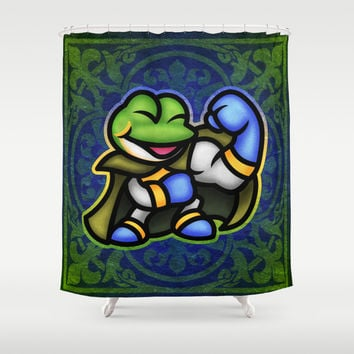 Frog Shower Curtain by Likelikes