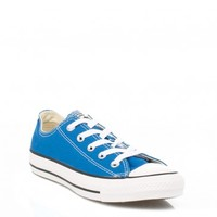 CONVERSE ALL STAR LOW WOMENS LARKSPUR BLUE TRAINERS