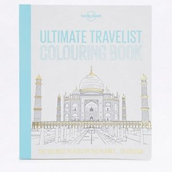 Ultimate Travelist Colouring Book - Urban Outfitters