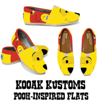 KOOAK Kustoms Disney Pooh-Inspired Toms Flats