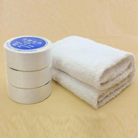 Essential Travel Use Compressed Towels Space Saving Cotton Hotels Camping Trip Practical Easy Carry Portable Towels