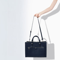 CITYBAG WITH ZIPS