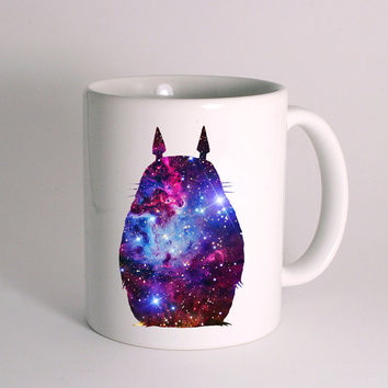 Totoro Beautiful Place Galaxy for Mug Design