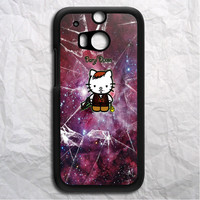 Nebula Hello Kitty Daryl Dixon HTC One M8 Case
