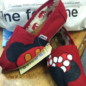 Hand-painted Custom Toms