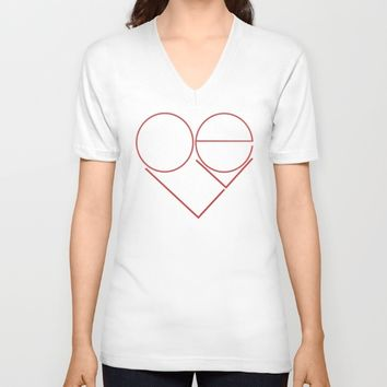 MODERN LOVE Unisex V-Neck by RichCaspian