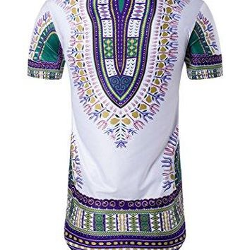 Dashiki Tunic Top - Unisex