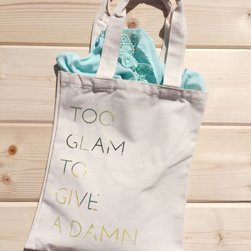 Eco Sassy Canvas Shopping Tote