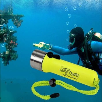 Underwater 1200LM CREE XM-L T6 LED Diving Flashlight Torch Lamp Light Waterproof Best Portal [9305895879]