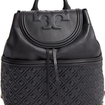 Tory Burch 'Fleming' Quilted Lambskin Leather Backpack | Nordstrom