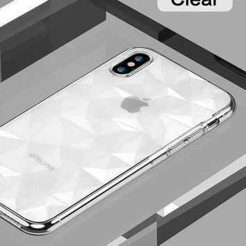 Diamond 3D Pattern Phone Case For iPhone