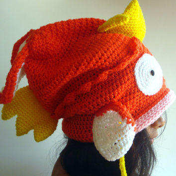 Pokemon Magikarp Hat, Size Baby to Adult