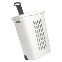 The Container Store Hamper with Wheels
