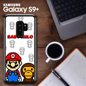 Baby Milo And Mario W4812 Samsung Galaxy S9 Plus Case