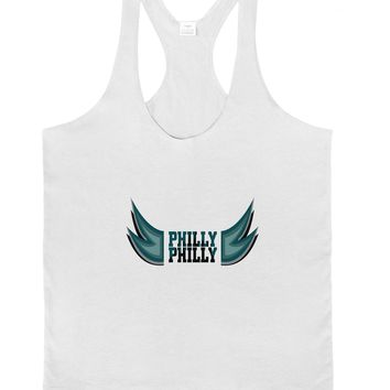 Philly Philly Funny Beer Drinking Mens String Tank Top by TooLoud
