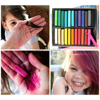 24 Set Hair Color Chalk, Temporary Hair Chalking Dye, Hair Color Chalks, Now Buy 2 Get 1 Free