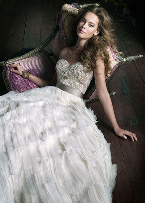 Bridal Gowns, Wedding Dresses by Lazaro - Style LZ3063