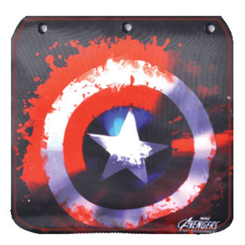Avengers Captain America Shield Bleed Flap for Messenger Bag