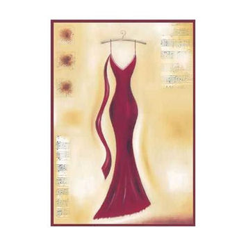 Red Evening Gown II