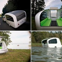 Sealander: It's a Camper ? It's a Boat ? It's Both! | Apartment Therapy