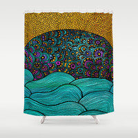 Oceania Shower Curtain by Pom Graphic Design | Society6