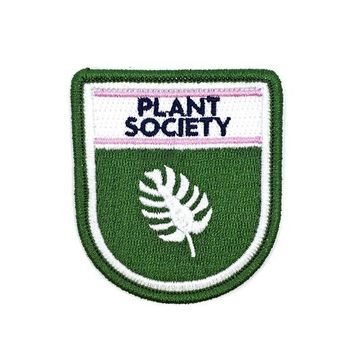 Plant Society Badge Patch