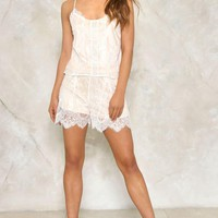 STAY WITH ME CAMI AND SHORTS SET
