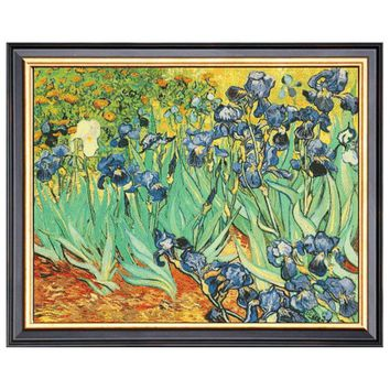 Needlework DIY DMC 14CT unprinted Cross stitch kits For Embroidery Van Gogh garden Counted Cross-Stitching  Home Decor