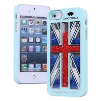 Cool The Union Jack Sliding Hard Cover Iphone 4/4s Case