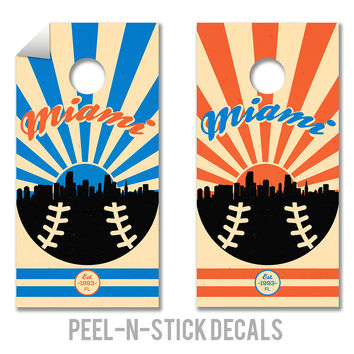 Miami Marlins Decals