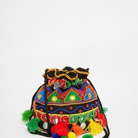 Glamorous Small Duffle With Embroidery