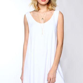 BB Dakota Henley Layered Dress
