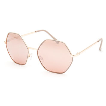 FULL TILT Rose Geo Sunglasses | Sunglasses