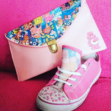 Retro Care Bears Shoes (SHOES ONLY)