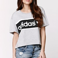 Adidas City T-Shirt - Womens Tee - Medium Gray