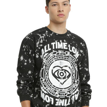 All Time Low Splatter Sweatshirt