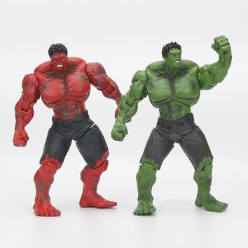 "Red Hulk 10"" 26cm Action Figure PVC Figure Toy Hands Adjusted Movie Lovers Collection"