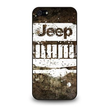 JEEP ART iPhone 5 / 5S / SE Case