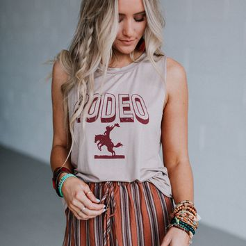 Rodeo Graphic Tee - Taupe
