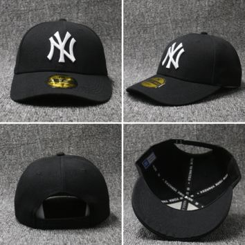 NY Embroidered Baseball cotton cap Hat