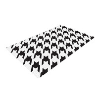 "Empire Ruhl ""Spacey Houndstooth"" Woven Area Rug"