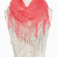 TWO TONE SEQUIN ETERNITY SCARF