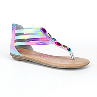 Kenneth Cole Reaction Girls' Bright Side Sandals - Rainbow