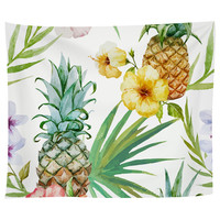 Pineapple Paradise Tapestry